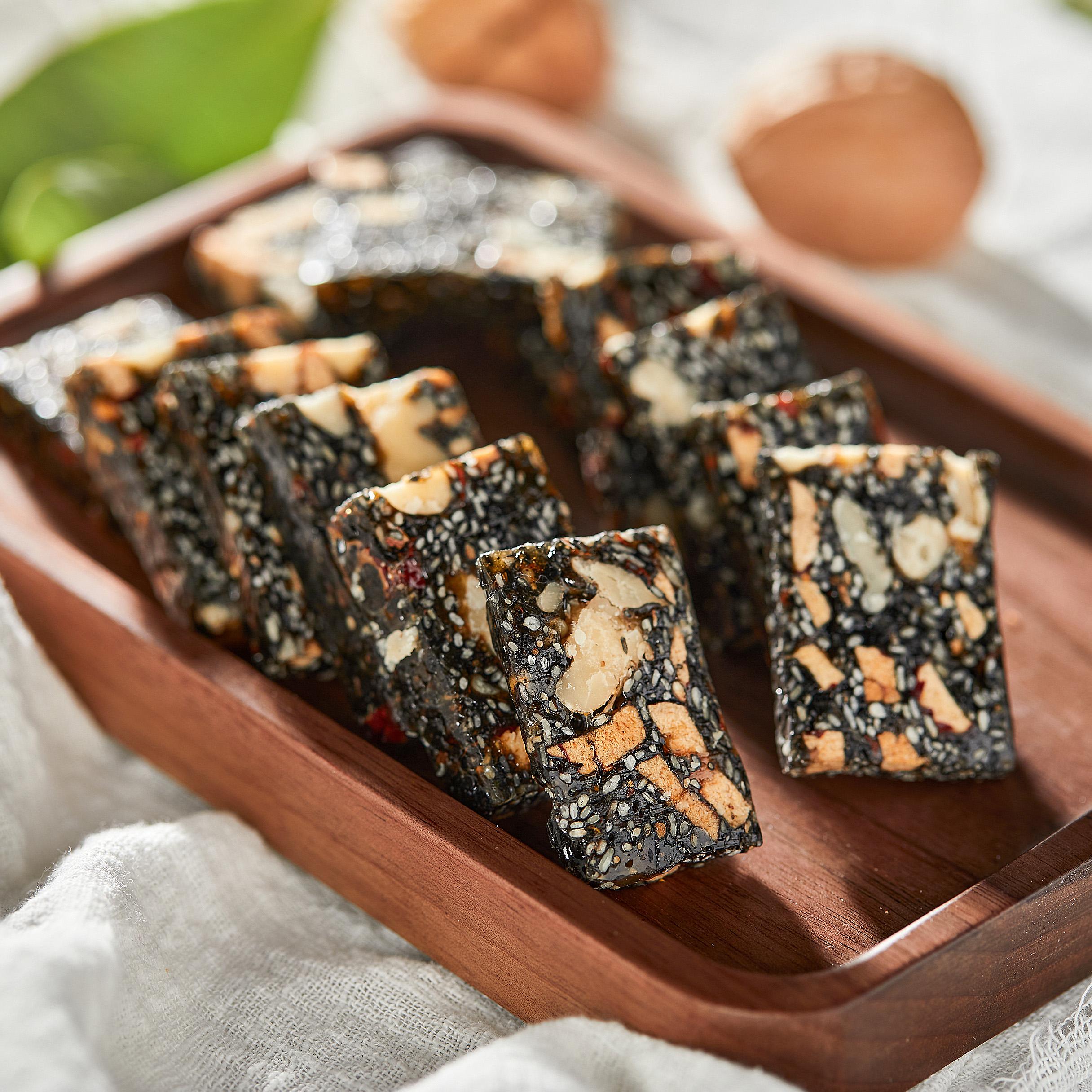 红枣黑芝麻核桃糕软糖 180g/袋女生孕妇期零食糕点心手工传统老式